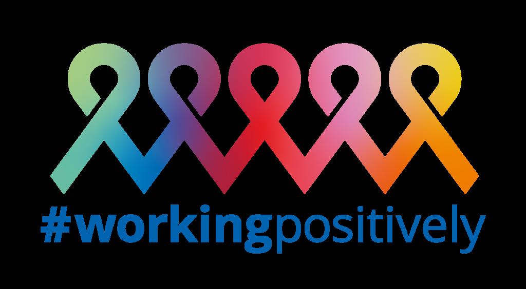 Logo working positively